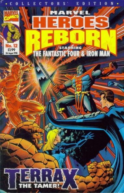 Cover for Marvel Heroes Reborn (Panini UK, 1997 series) #12