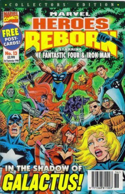 Cover for Marvel Heroes Reborn (Panini UK, 1997 series) #13