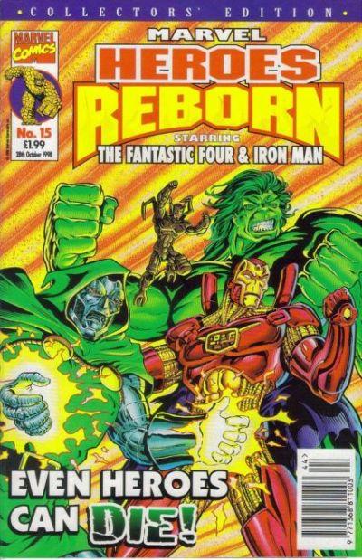 Cover for Marvel Heroes Reborn (Panini UK, 1997 series) #15