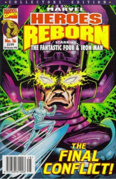 Cover for Marvel Heroes Reborn (Panini UK, 1997 series) #16