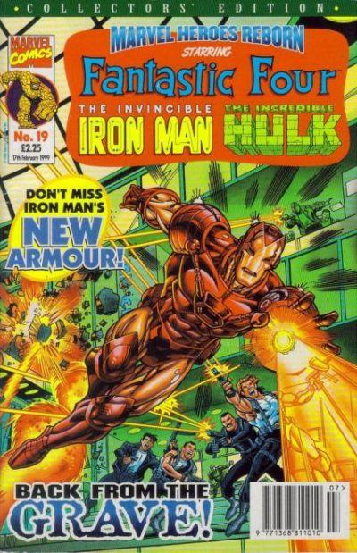 Cover for Marvel Heroes Reborn (Panini UK, 1997 series) #19