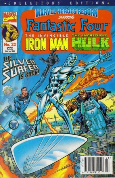 Cover for Marvel Heroes Reborn (Panini UK, 1997 series) #23