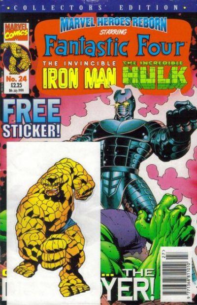 Cover for Marvel Heroes Reborn (Panini UK, 1997 series) #24
