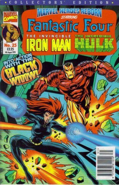 Cover for Marvel Heroes Reborn (Panini UK, 1997 series) #25