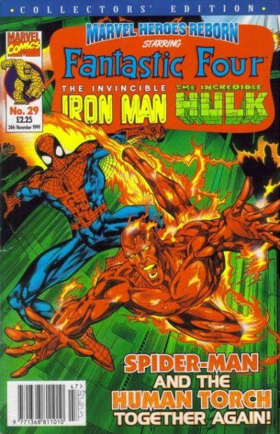 Cover for Marvel Heroes Reborn (Panini UK, 1997 series) #29
