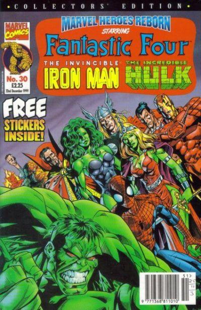 Cover for Marvel Heroes Reborn (Panini UK, 1997 series) #30