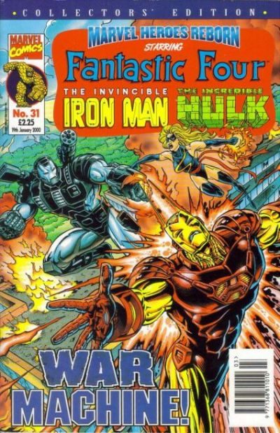 Cover for Marvel Heroes Reborn (Panini UK, 1997 series) #31