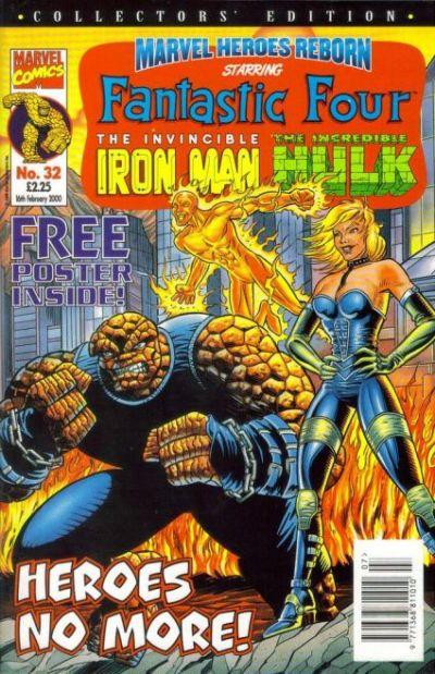 Cover for Marvel Heroes Reborn (Panini UK, 1997 series) #32