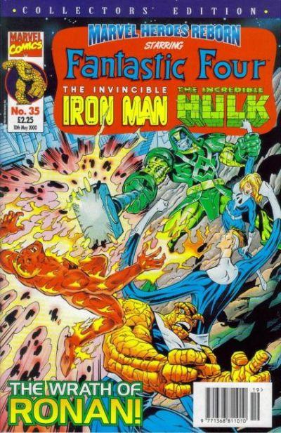 Cover for Marvel Heroes Reborn (Panini UK, 1997 series) #35