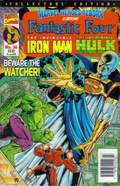 Cover for Marvel Heroes Reborn (Panini UK, 1997 series) #36