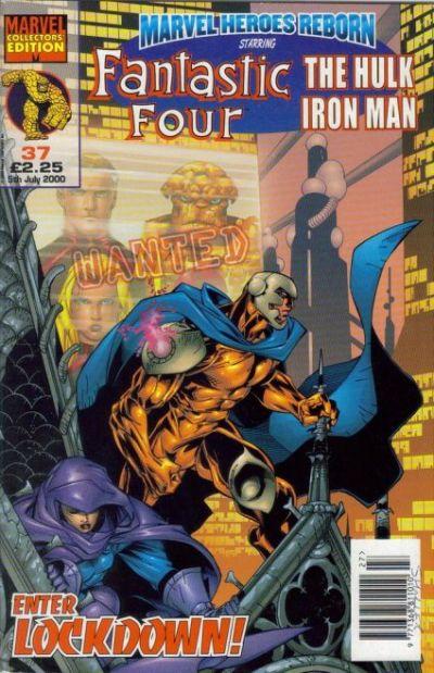 Cover for Marvel Heroes Reborn (Panini UK, 1997 series) #37