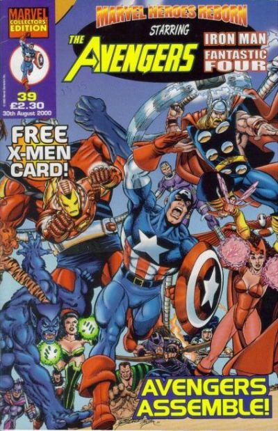 Cover for Marvel Heroes Reborn (Panini UK, 1997 series) #39