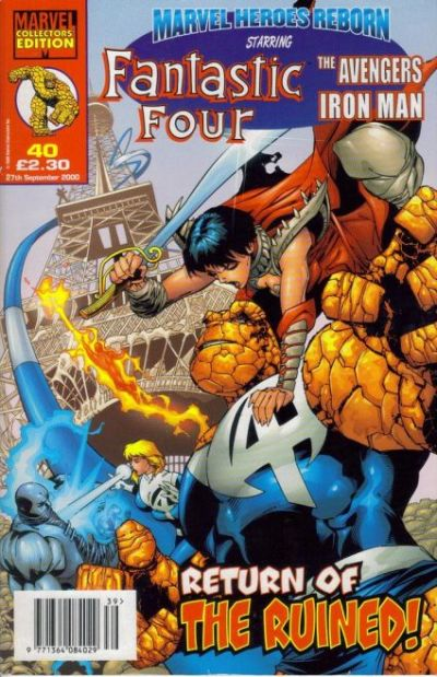 Cover for Marvel Heroes Reborn (Panini UK, 1997 series) #40