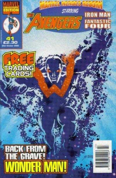 Cover for Marvel Heroes Reborn (Panini UK, 1997 series) #41