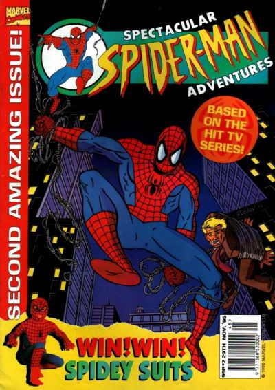 Cover for Spectacular Spider-Man Adventures (Panini UK, 1995 series) #2