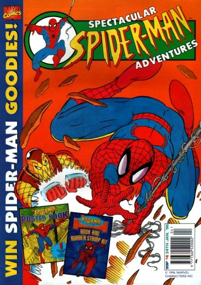 Cover for Spectacular Spider-Man Adventures (Panini UK, 1995 series) #4