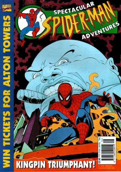 Cover for Spectacular Spider-Man Adventures (Panini UK, 1995 series) #7