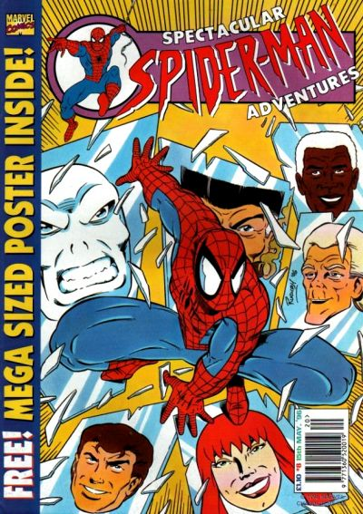 Cover for Spectacular Spider-Man Adventures (Panini UK, 1995 series) #8
