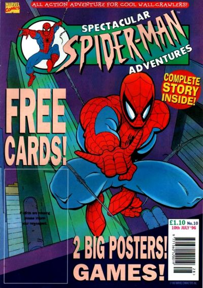 Cover for Spectacular Spider-Man Adventures (Panini UK, 1995 series) #10