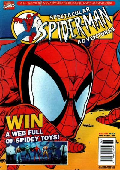 Cover for Spectacular Spider-Man Adventures (Panini UK, 1995 series) #12