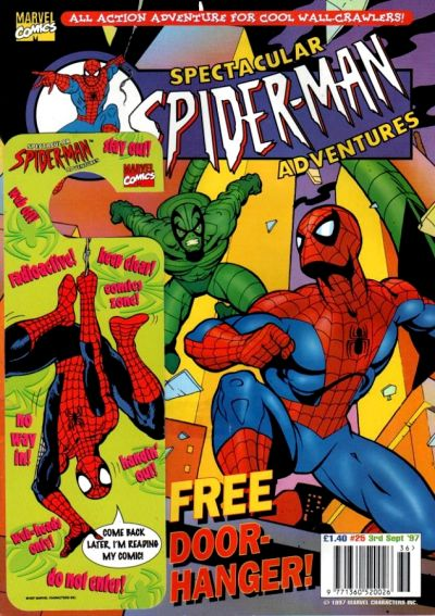 Cover for Spectacular Spider-Man Adventures (Panini UK, 1995 series) #25
