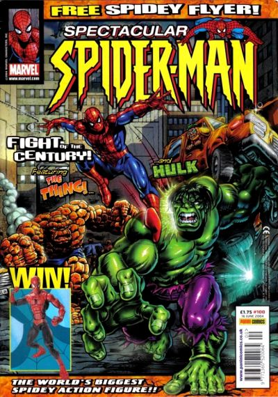 Cover for Spectacular Spider-Man Adventures (Panini UK, 1995 series) #100
