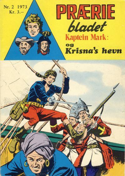 Cover for Præriebladet (Serieforlaget / Se-Bladene / Stabenfeldt, 1957 series) #2/1973