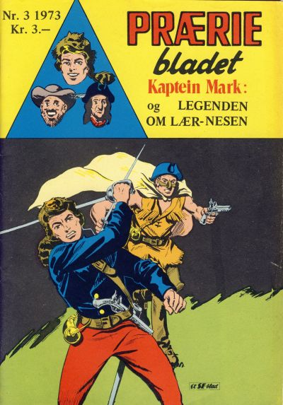 Cover for Præriebladet (Serieforlaget / Se-Bladene / Stabenfeldt, 1957 series) #3/1973