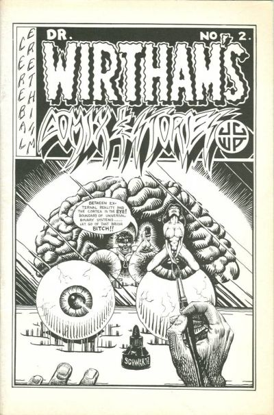Cover for Dr. Wirtham's Comix & Stories (Clifford Neal, 1976 series) #2