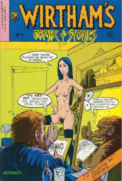 Cover for Dr. Wirtham's Comix & Stories (Clifford Neal, 1976 series) #3
