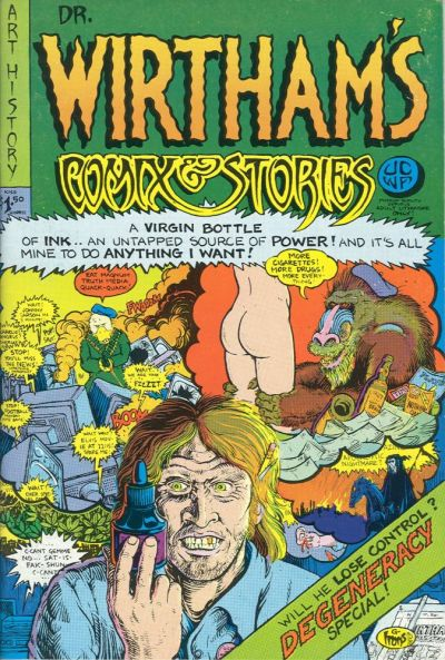 Cover for Dr. Wirtham's Comix & Stories (Clifford Neal, 1976 series) #4