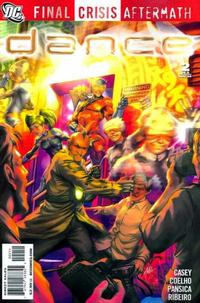 Cover for Final Crisis Aftermath: Dance (DC, 2009 series) #2