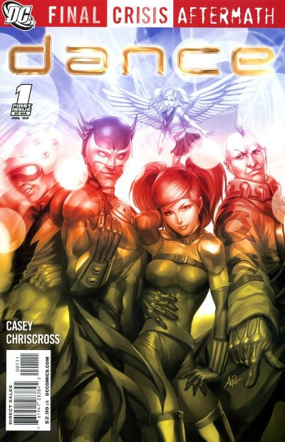 Cover for Final Crisis Aftermath: Dance (DC, 2009 series) #1