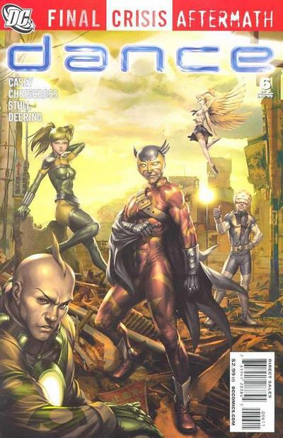 Cover for Final Crisis Aftermath: Dance (DC, 2009 series) #6