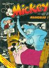 Cover for Mickey Maandblad (Oberon, 1976 series) #1/1978