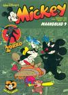 Cover for Mickey Maandblad (Oberon, 1976 series) #9/1978