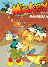 Cover for Mickey Maandblad (Oberon, 1976 series) #10/1978