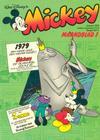 Cover for Mickey Maandblad (Oberon, 1976 series) #1/1979