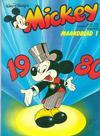 Cover for Mickey Maandblad (Oberon, 1976 series) #1/1980