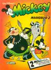 Cover for Mickey Maandblad (Oberon, 1976 series) #2/1980