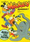 Cover for Mickey Maandblad (Oberon, 1976 series) #7/1981