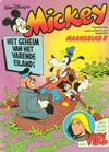 Cover for Mickey Maandblad (Oberon, 1976 series) #8/1981
