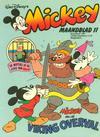 Cover for Mickey Maandblad (Oberon, 1976 series) #11/1981