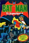 Cover for Batman Superband (Egmont Ehapa, 1974 series) #12