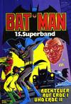 Cover for Batman Superband (Egmont Ehapa, 1974 series) #15