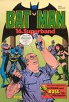 Cover for Batman Superband (Egmont Ehapa, 1974 series) #16