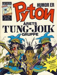Cover Thumbnail for Pyton (Gevion, 1986 series) #3/1986