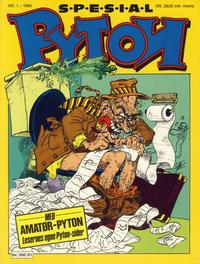 Cover Thumbnail for Pyton Spesial [Spesial Pyton] (Bladkompaniet / Schibsted, 1990 series) #1/1990