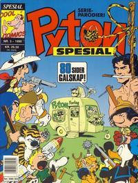 Cover Thumbnail for Pyton Spesial [Spesial Pyton] (Bladkompaniet / Schibsted, 1990 series) #3/1990