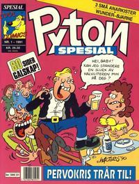 Cover Thumbnail for Pyton Spesial [Spesial Pyton] (Bladkompaniet, 1990 series) #1/1991